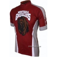 Latest Um University Of Montana Grizzlies Cycling Short Sleeve Jersey Tj-539-7274