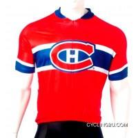 Latest Montreal Canadiens Cycling Jersey Short Sleeve Tj-888-3971