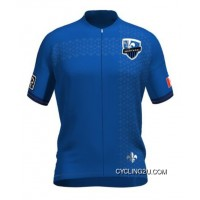 Free Shipping MLS Montreal Impact Short Sleeve Cycling Jersey Bike Clothing Cycle Apparel TJ-374-3785