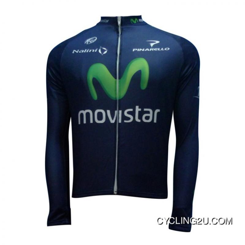 buy popular dad6f 42df2 Copuon 2013 Movistar Cycling Long Sleeve Winter Jacket Tj-735-4109