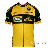 MTN QHUBEKA 2013 Vermarc Professional Cycling Team - Short Sleeve Cycling Jersey TJ-769-6103 New Year Deals