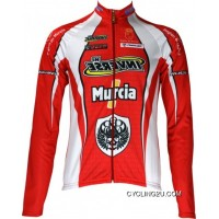 Murcia 2010 Inverse Professional Cycling Team Jersey Long Sleeve Tj-114-2727 Online