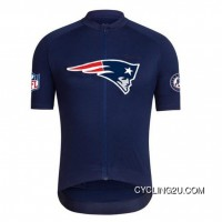 NFL New England Patriots Cycling Short Sleeve Jersey TJ-644-8021 For Sale