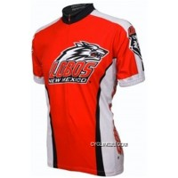 New Release UNM University Of New Mexico Lobos Cycling Short Sleeve Jersey TJ-282-6580
