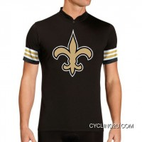 NFL New Orleans Saints Short Sleeve Cycling Jersey Bike Clothing TJ-383-2899 Super Deals