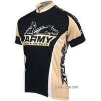 Copuon West Point Military Academy (Army Black Knights) Cycling Jersey Tj-858-4185