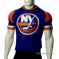 Latest New York Islanders Cycling Jersey Short Sleeve Tj-084-3351