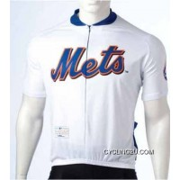 Super Deals MLB New York Mets Cycling Jersey Short Sleeve TJ-918-4172