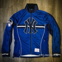 Outlet Mlb New York Yankees Long Sleeve Cycling Jersey Bike Clothing Cycle Apparel Shirt Outfit Ropa Ciclismo Tj-828-8478