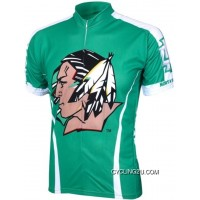 UND University Of North Dakota Fighting Sioux Cycling Short Sleeve Jersey TJ-868-1982 Super Deals