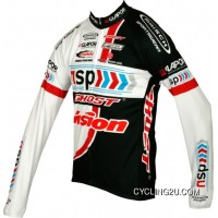 Top Deals Nsp-Ghost 2012 Maisch Radsport-Profi-Team Winter Fleece Long Sleeve Jersey Jacket Tj-858-8789