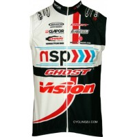 NSP-GHOST 2012 Maisch Radsport-Profi-Team Sleeveless Jersey Vest TJ-196-6022 Outlet