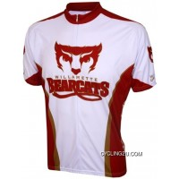 Willamette University Bearcats Cycling Short Sleeve Jersey Tj-409-8769 Best