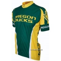UO University Of Oregon Ducks Cycling Short Sleeve Jersey TJ-014-7529 Outlet