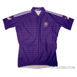 Mls Orlando City Short Sleeve Cycling Jersey Bike Clothing Cycle Apparel Tj-847-7969 New Style