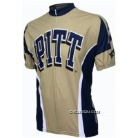 Super Deals Pitt University Of Pittsburgh Panthers Cycling Short Sleeve Jersey Tj-245-4954