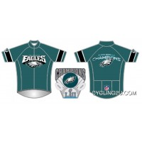 NFL Philadelphia Eagles Short Sleeve Cycling Jersey Bike Clothing TJ-709-7151 New Year Deals
