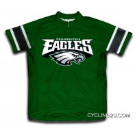 NFL Philadelphia Eagles Short Sleeve Cycling Jersey Bike Clothing TJ-017-3013 For Sale