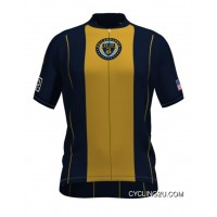 Mls Philadelphia Union Short Sleeve Cycling Jersey Bike Clothing Cycle Apparel Tj-882-0878 Latest