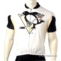 Free Shipping Pittsburgh Penguins Cycling Jersey Short Sleeve Tj-947-0950