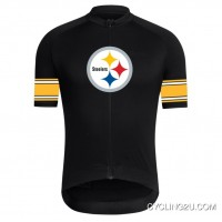 NFL Pittsburgh Steelers Short Sleeve Cycling Jersey Bike Clothing TJ-870-2135 Copuon