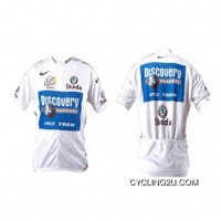 2005 Discovery White Cycling Jersey Short Sleeve New Release