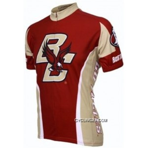 Boston Eagles Short Sleeve Cycling Jersey Bike Clothing Cycle Apparel Outfit Bicycle Shirts Outlet