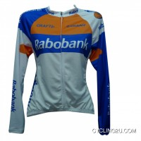 2012 TEAM Rabo Bank Cycling Long Sleeve Jersey TJ-201-1400 New Release