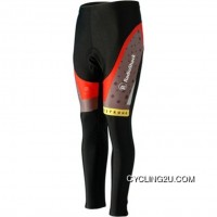 Radioshack Red Cycling Winter Pants Tj-709-9627 Free Shipping