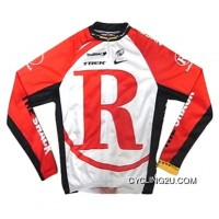 RadioShack Red Cycling Long Sleeve Jersey TJ-310-0516 Free Shipping