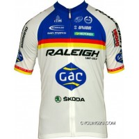 Free Shipping RALEIGH 2012 MOA Professional Cycling Team - Cycling Short Jersey TJ-351-4642