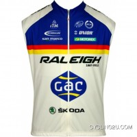 New Release Raleigh 2012 Moa Professional Cycling Team - Cycling Sleeveless Jersey Tj-710-8964