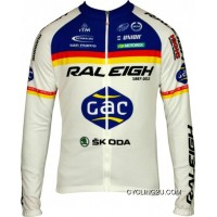 Free Shipping RALEIGH 2012 MOA Professional Cycling Team - Cycling Long Sleeve Jersey TJ-254-7603