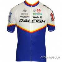 Raleigh 2011 Moa Professional Cycling Team - Cycling Short Sleeve Jersey Tj-624-9258 For Sale