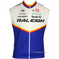 For Sale Raleigh 2011 Moa Professional Cycling Team - Cycling Sleeveless Jersey Tj-334-0936