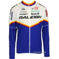 RALEIGH 2011 MOA Professional Cycling Team - Cycling Long Sleeve Jersey TJ-186-1266 New Style