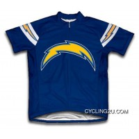 NFL San Diego Chargers Short Sleeve Cycling Jersey Bike Clothing TJ-881-7319 For Sale