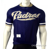 Mlb San Diego Padres Cycling Jersey Short Sleeve Tj-584-5240 For Sale