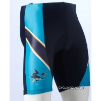 Discount San Jose Sharks Cycling Shorts TJ-236-0455