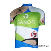 New Release 2012 SANOFI Team Short Sleeve Jersey TJ-376-1908