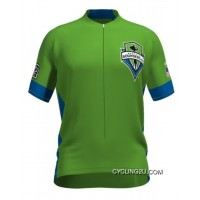MLS Seattle Sounders FC Short Sleeve Cycling Jersey Bike Clothing Cycle Apparel TJ-114-8290 Top Deals