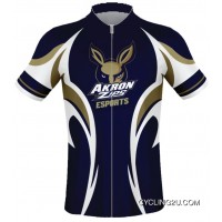 University Of Akron Zips Cycling Jersey TJ-239-4592 Top Deals
