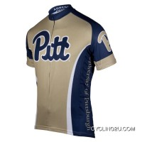 Pitt University Of Pittsburgh Panthers Cycling Short Sleeve Jersey Tj-875-1558 Discount