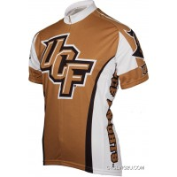 Ucf University Of Central Florida Golden Knights Cycling Jersey Short Sleeve Jersey Tj-175-1968 Super Deals