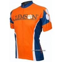 For Sale Clemson University Tigers Cycling Jersey TJ-118-4697
