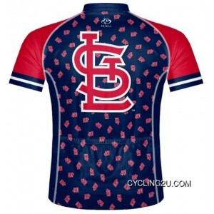 MLB St. Louis Cardinals Cycling Jersey Bike Clothing Cycle Apparel Shirt Ciclismo TJ-247-7323 New Year Deals