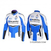 New Style 2008 Subaru Cycling Team Winter Jacket Tj-890-5731