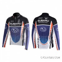 SUBARU Cycling Team Long Sleeve JACKET TJ-519-4273 Outlet