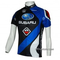New Style 2010 Subaru Blue Short Sleeve Cycling Jersey TJ-145-6308