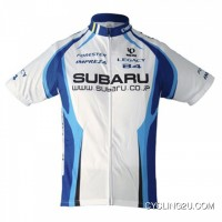 New Release 2009 Subaru Blue Short Sleeve Cycling Jersey TJ-872-7420